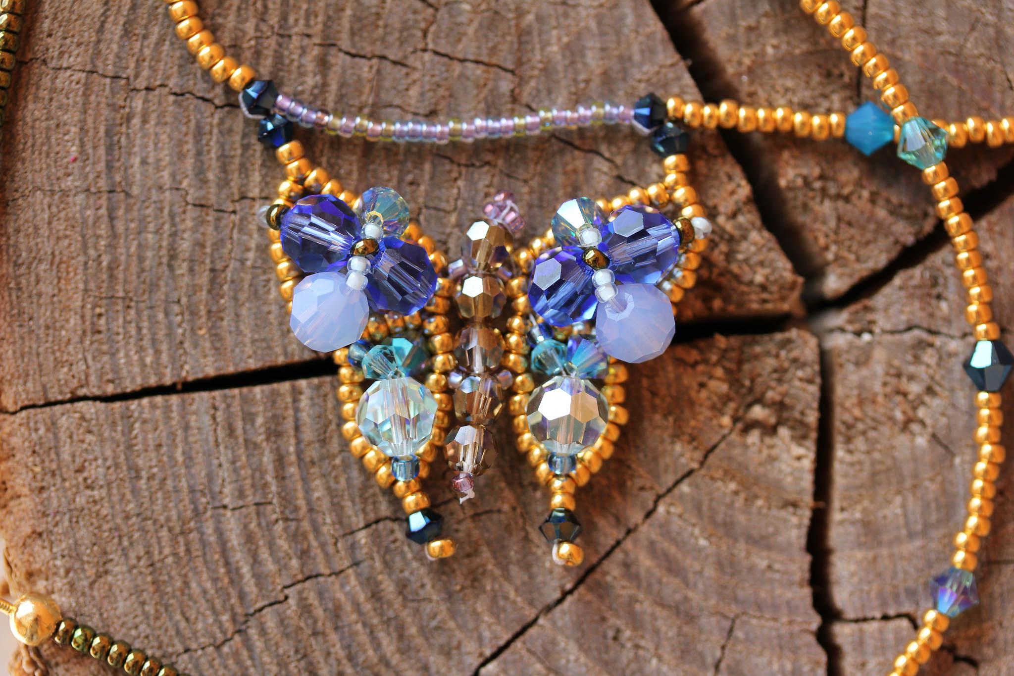 Farfalla blu - Cristalclinic
